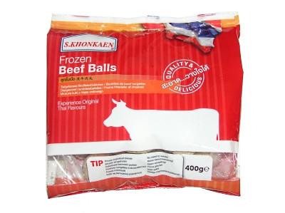 Frozen Beef Balls 400g - S.KHONKAEN