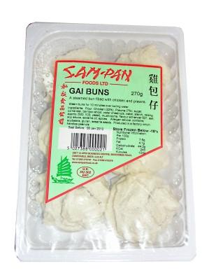 Gai (Pork & Prawn) Steamed Buns - SAM PAN