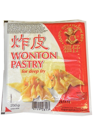 Won Ton Wrappers (for deep-fry) - HAPPY BOY