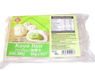 Kaya Buns - Pandan Flavour - KG PASTRY
