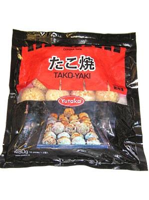 Octopus Balls (Takoyaki) - YUTAKA