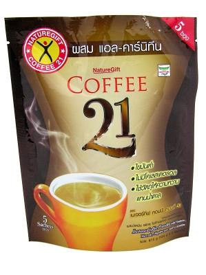Coffee 21 with L-Carnitine 67.5g - NATUREGIFT