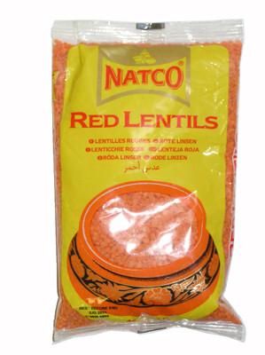 Red Lentils 500g - NATCO