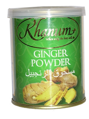 Ginger Powder 100g (tin) - KHANUM