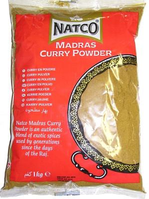 Madras Curry Powder 1kg - NATCO