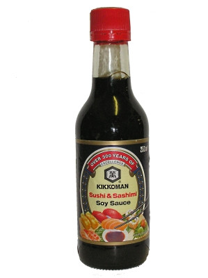 Sushi & Sashimi Soy Sauce 250ml - KIKKOMAN