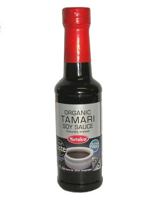 Tamari Soy Sauce (gluten free) - YUTAKA