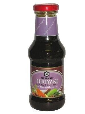 Teriyaki Stir-fry & Marinade - Honey & Garlic - KIKKOMAN