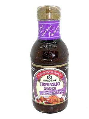 Teriyaki Sauce with Roasted Garlic - KIKKOMAN