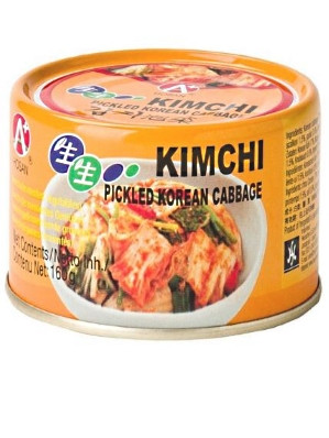 Korean Kimchi 160g (can) - HoSAN