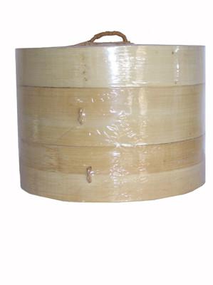 Bamboo Steamer Set - 8 inch