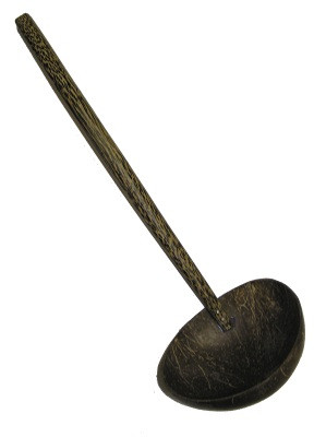 Coconut Shell Ladle (large)