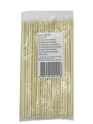 """Bamboo Skewers 6"""" - LIROY"""