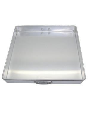 Square (25.5x25.5x3cm) Aluminium Dessert Tin - CHUE CHIN HUA