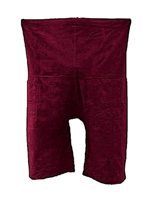 Thai Fisherman's Trousers (one size) - Burgundy Colour