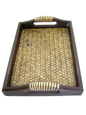 Wooden Serving Tray (27.5 x 20.5cm)