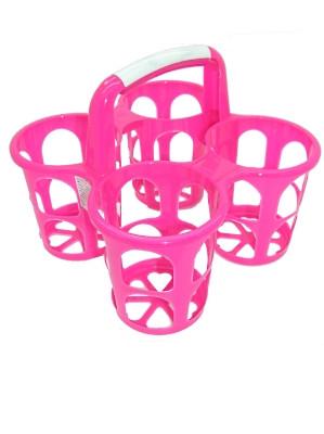 Plastic Condiment Holder (pink) - DRAGON WARE
