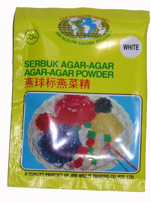 Agar Agar Powder 7g - White - SWALLOW GLOBE