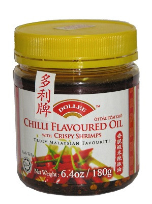 Chilli Oil with Crispy Shrimps - DOLLEE