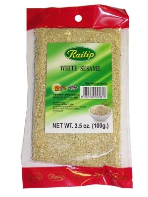 White Sesame Seeds 100g - RAITIP