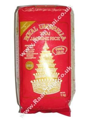 Thai Jasmine Rice 1kg - ROYAL UMBRELLA