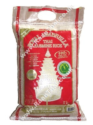 Thai Jasmine Rice 5kg - ROYAL UMBRELLA