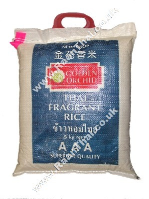 Thai Fragrant Rice 5kg - GOLDEN ORCHID