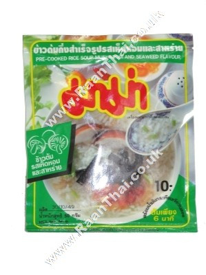 Rice Soup - Mushroom & Seaweed Flavour MAMA