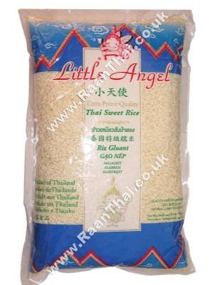 Thai Glutinous Rice 2kg - LITTLE ANGEL