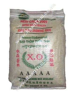 100% Thai Jasmine Rice 5kg - XO