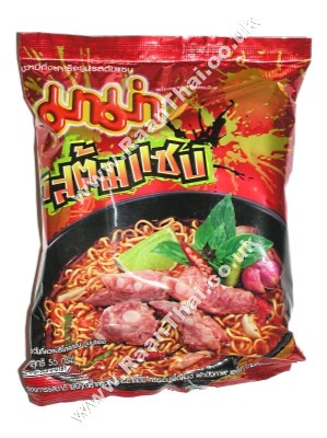 Instant Noodles - !!!!Tom Saab!!!! (Hot & Spicy) Flavour - MAMA