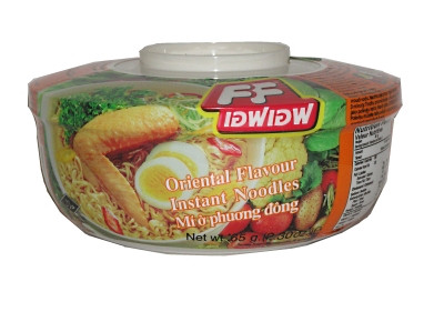Instant Bowl Noodles - Oriental Flavour - FASHION FOOD