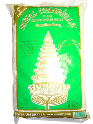 Thai Glutinous Rice 2kg - ROYAL UMBRELLA