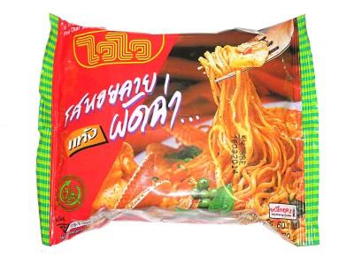 Instant Noodles - Pad Char Baby Clam Flavour - WAI WAI