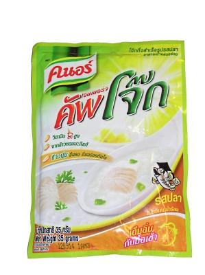 Instant Rice Porridge - Fish Flavour 35g - KNORR