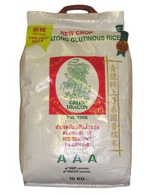 Thai Glutinous Rice 10kg - GREEN DRAGON