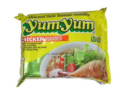 Instant Noodles - Chicken Flavour - YUM YUM