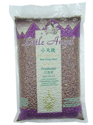 Thai Red Cargo Rice 1kg - LITTLE ANGEL