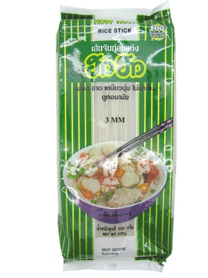 Rice Sticks (cut) 3mm 500g - HOW HOW
