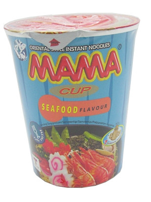 Instant Cup Noodles - Seafood Flavour - MAMA