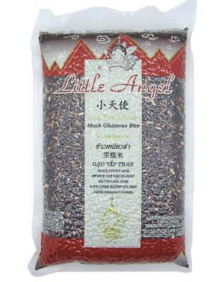 Thai Black Glutinous Rice 1kg - LITTLE ANGEL