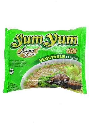 Instant Noodles - Vegetable Flavour - YUM YUM