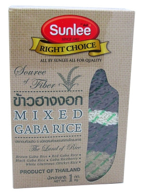 Mixed (brown, red, black, riceberry, white glutinous) Gaba Rice - SUNLEE