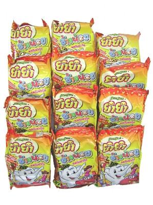 CHANG NOI Instant Noodles - Shrimp Tom Yum Flavour 12x22g - YUM YUM