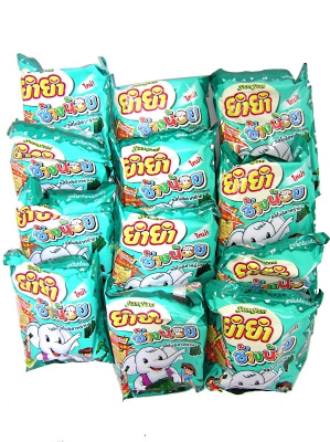 CHANG NOI Instant Noodles - Nori Seaweed Flavour 12x22g - YUM YUM