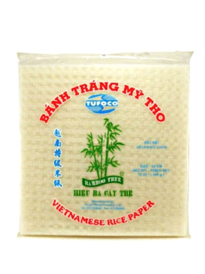 Rice Paper (Square) 22cm - BAMBOO TREE