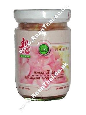 Seasoned Pickled Pink Ginger 227g - LENG HENG
