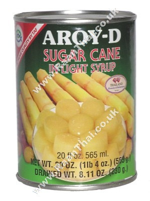 Sugar Cane (cut) in Syrup - AROY-D