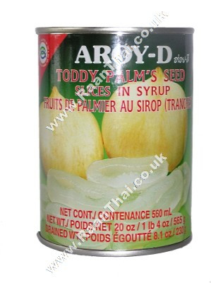 Toddy Palm Seed (sliced) in Syrup - AROY-D