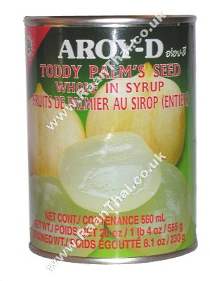 Toddy Palm (whole) in Syrup - AROY-D
